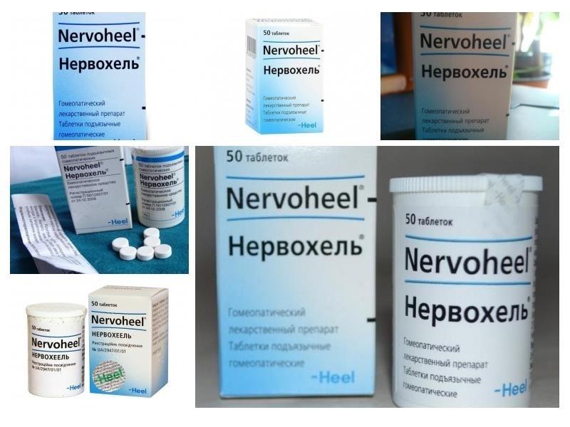 Инструкция по применению нервохеля и отзывы о препарате