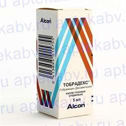 Тобрадекс: инструкция по применению глазных капель взрослым и для детей