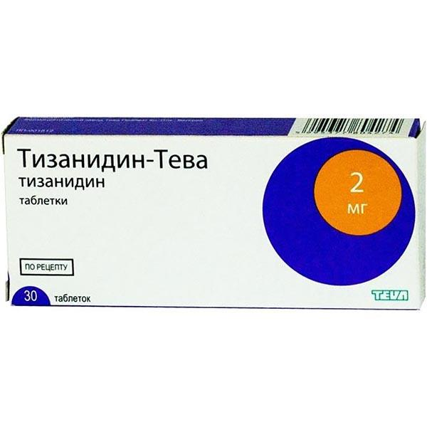 Тизанидин - таблетки с миорелаксирующим действием