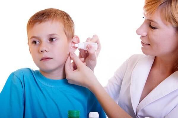 Левомицетиновый спирт при отите детям