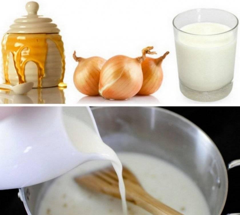 Народные средства от кашля с медом