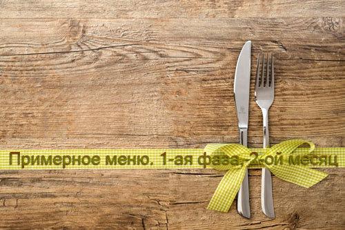 Диета монтиньяка: таблица продуктов и варианты меню на неделю