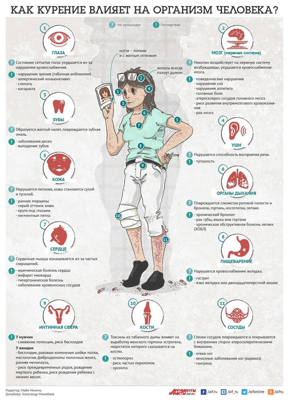 Влияние курения на хронический бронхит