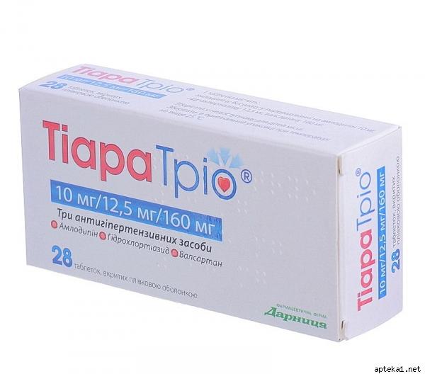 Тиара трио - инструкция и отзывы. цена в аптеке.