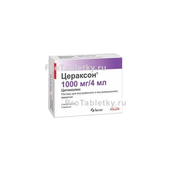 Цераксон: инструкция по применению, цена, отзывы врачей и пациентов, аналоги, состав и дозировка