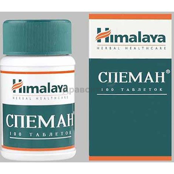 Инструкция по применению таблеток спеман