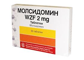 Аналоги лекарства молсидомин