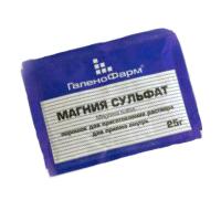 Экспресс похудение с помощью сульфата магния