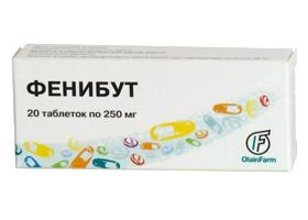 Фенибут: инструкция по применению, аналоги и отзывы, цены в аптеках россии