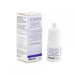 Азарга (капли для глаз при глаукоме)