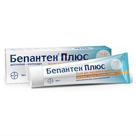 Препарат: бепантен в аптеках москвы