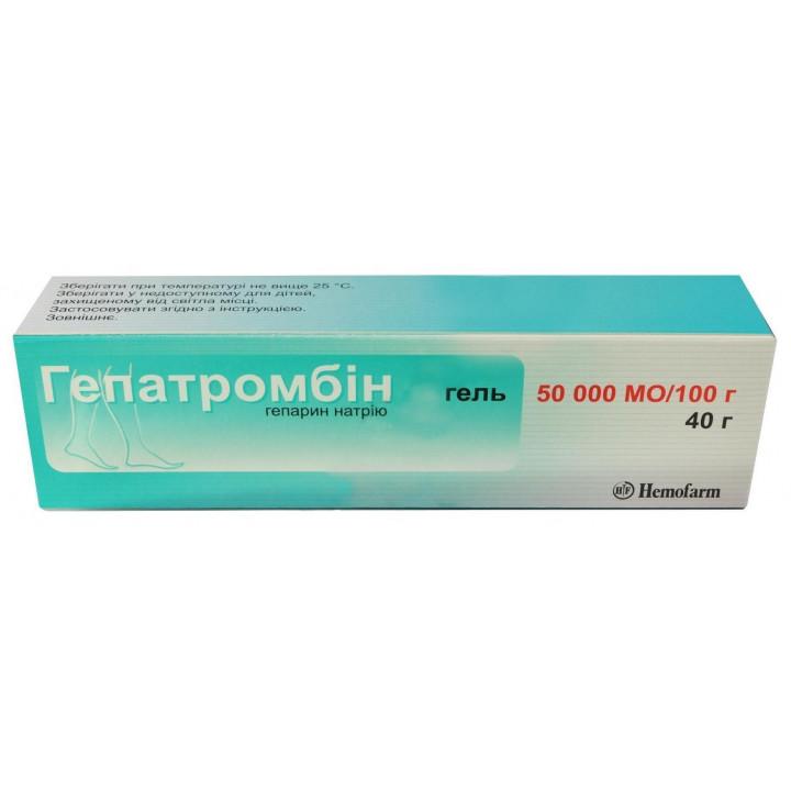 Мазь гепатромбин г от геморроя, варикоза и воспалительных процессов