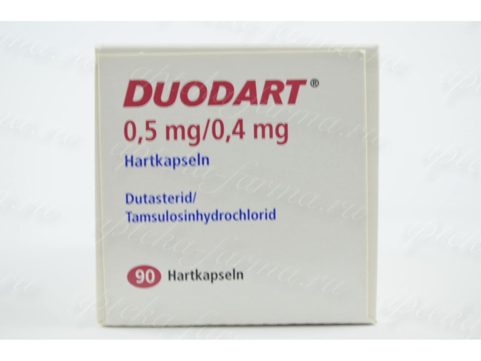 Дуодарт (duodart) 90 таблеток. цена, инструкция, противопоказания, побочные действия, аналоги