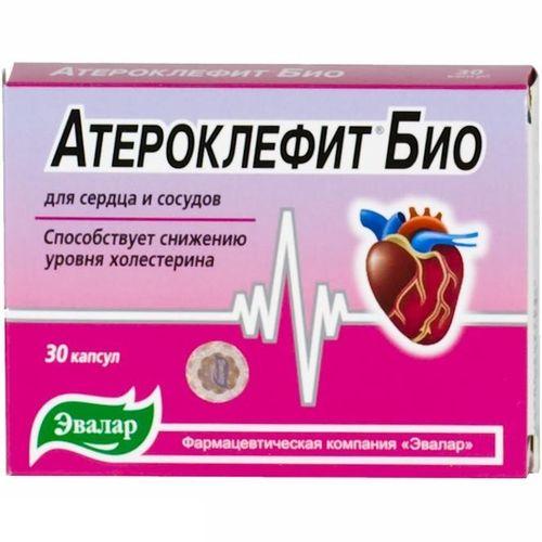 Бад с гиполипидемическим действием «атероклефит»