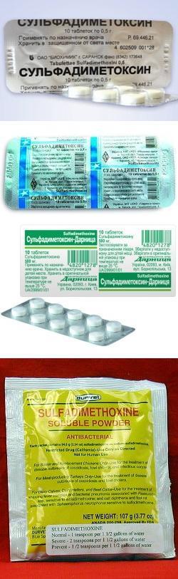 Можно ли давать детям сульфадиметоксин. сульфадиметоксин: показания к применению