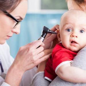 Гнойный отит у детей симптомы и лечение