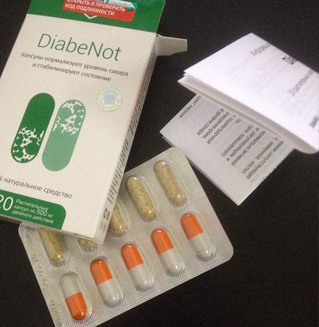 Капсулы diabenot - новое средство от сахарного диабета: отзывы, состав, инструкция по применению