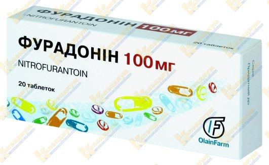Фурадонин таблетки