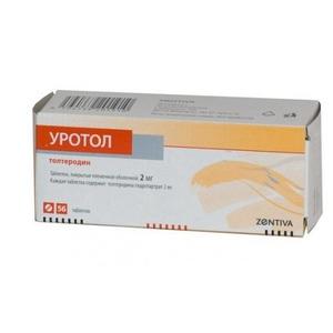 Уротол – инструкция по применению таблеток, цена, отзывы, аналоги