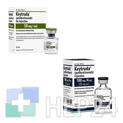Препарат кейтруда (пембролизумаб)