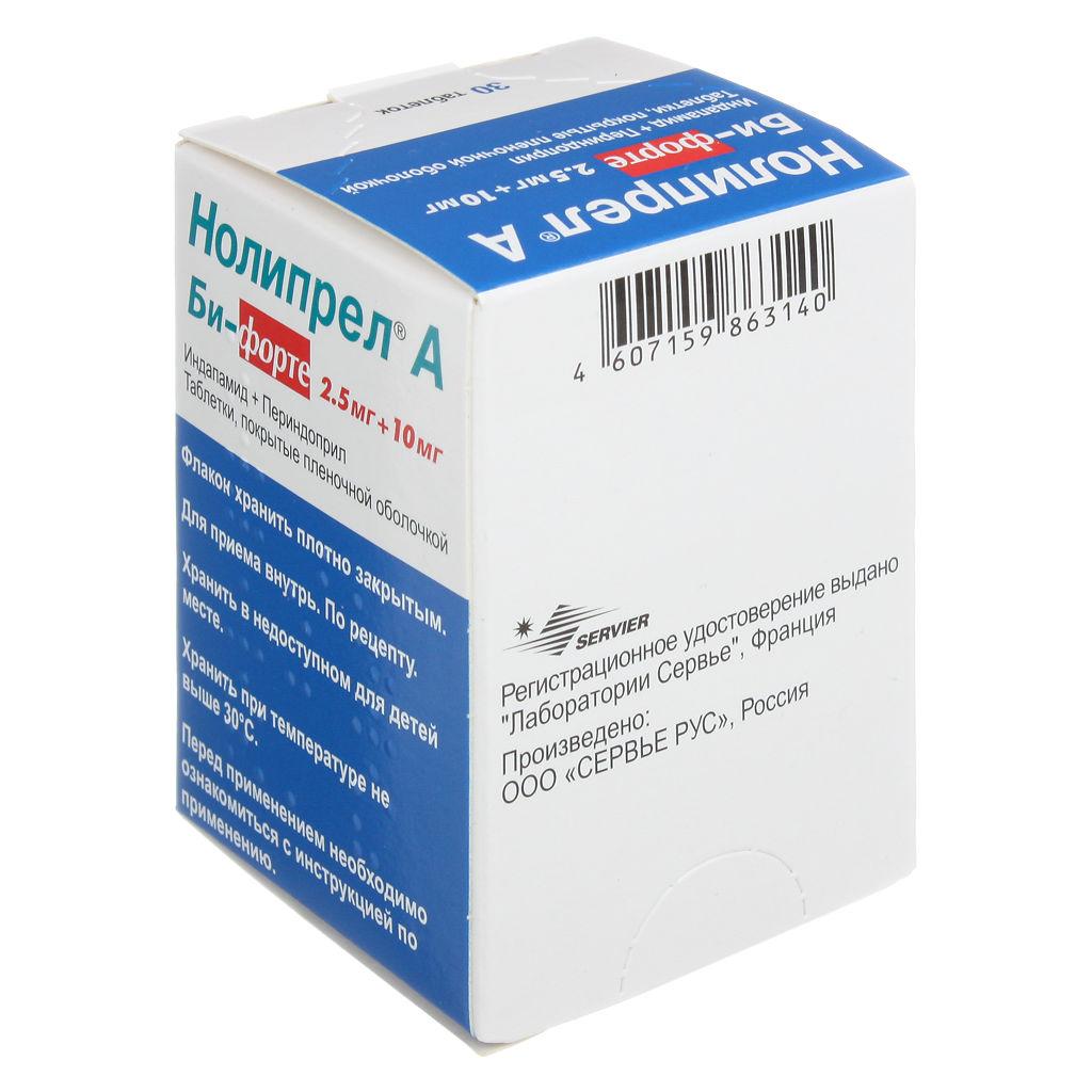 Применять с осторожностью: перечень противопоказаний и возможных побочных эффектов препарата нолипрел