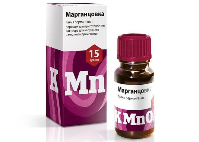 Марганцовка (перманганат калия): где купить, цена, инструкция по применению, отзывы при удалении волос, формул