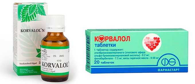 Седативный препарат корвалол от повышенного давления и головной боли: инструкция по применению и особые указания