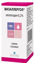Визаллергол глазные капли: инструкция по применению и для чего они нужны, цена, отзывы, аналоги