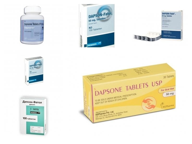Лечение дапсон – рекомендации британской ассоциации дерматологов  (перевод и адаптация проф. святенко)