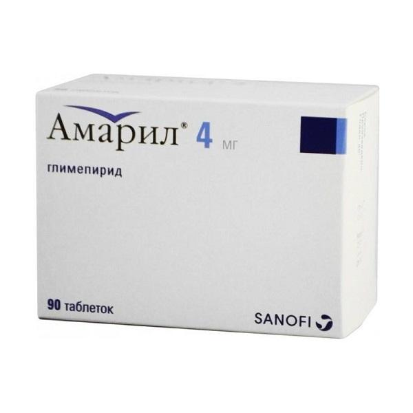 Инструкция по применению таблеток амарил