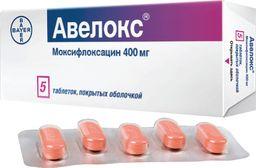Авелокс (моксифлоксацин)