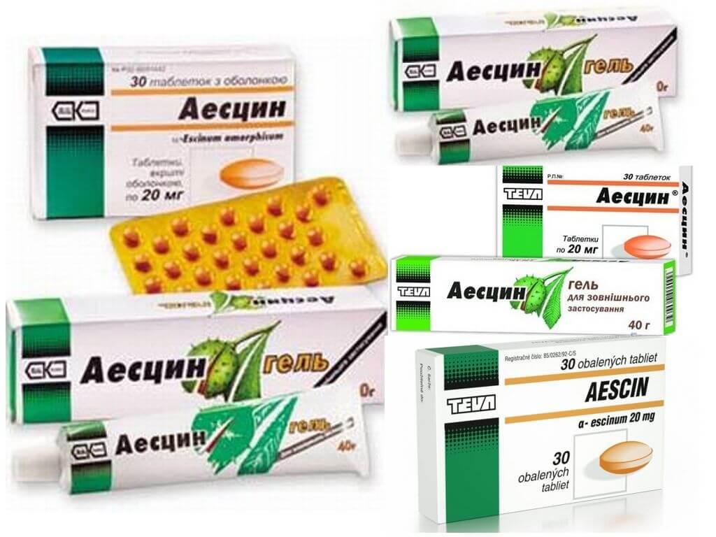 Действующий препарат для лечения сосудов! аэсцин и его инструкция по применению