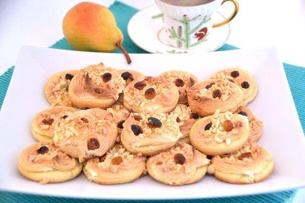 Диетическое овсяное печенье с яблоком и медом