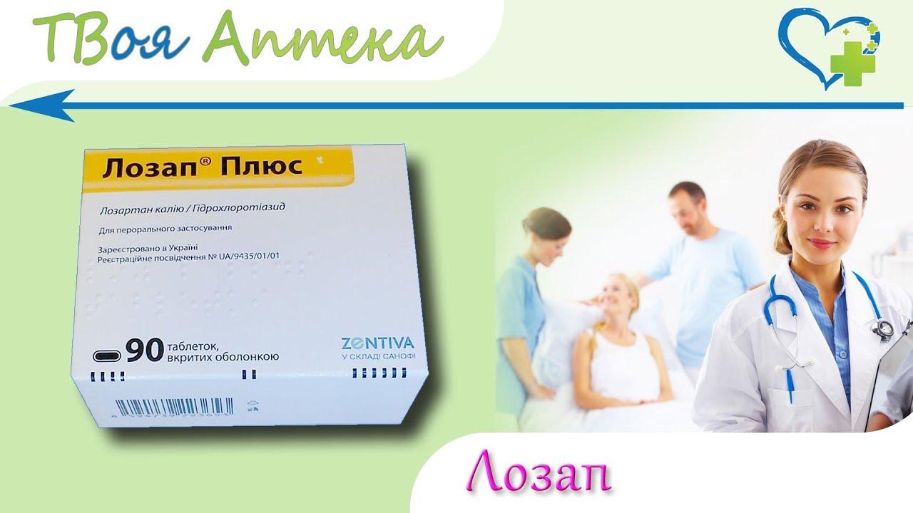 Как правильно использовать препарат лозап ам?
