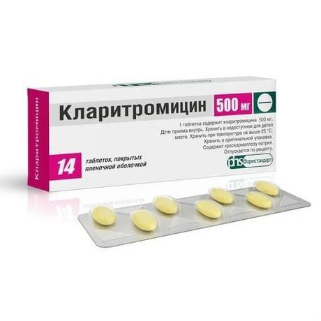 Антибиотик кларитромицин: инструкция и отзывы людей