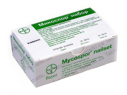 Набор для лечения грибка на ногтях bayer «микоспор» — отзывы. негативные, нейтральные и положительные отзывы