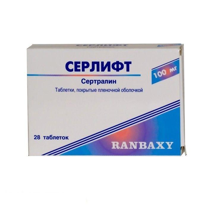 Сертралин: описание и инструкция препарата