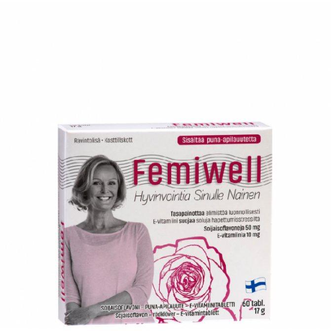 Фемивелл: отзывы женщин при климаксе, инструкция