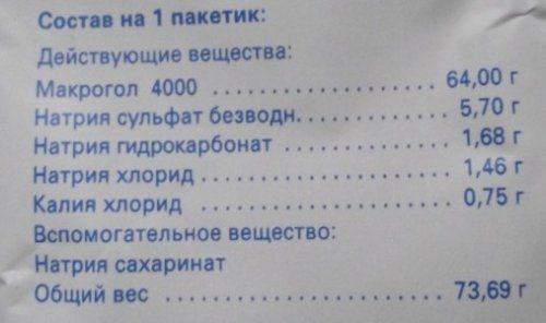 """Пациентам: инструкция по очищению кишечника препаратом """"фортранс"""" перед колоноскопией"""