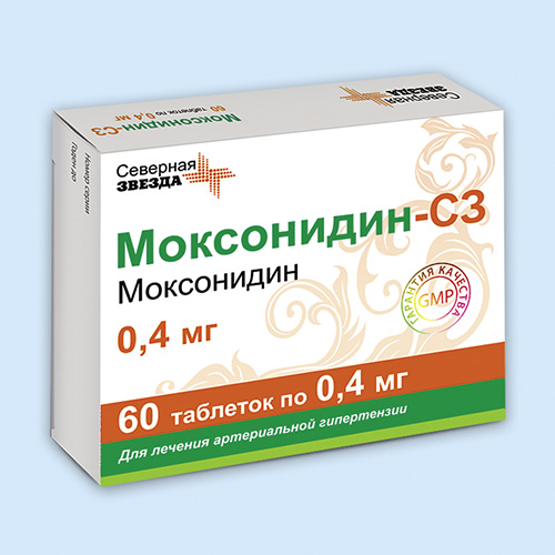 Моксонидин канон — таблетки от повышенного давления