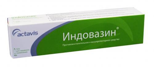 Особенности применения геля индовазин