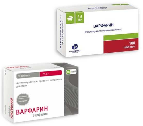 От чего помогает «варфарин». инструкция, цена и аналоги