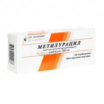 Метилурацил таблетки: инструкция по применению и для чего он нужен, цена, отзывы, аналоги