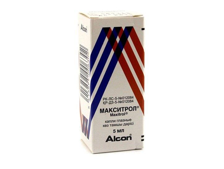 Профилактика и лечение макситролом глазных инфекций