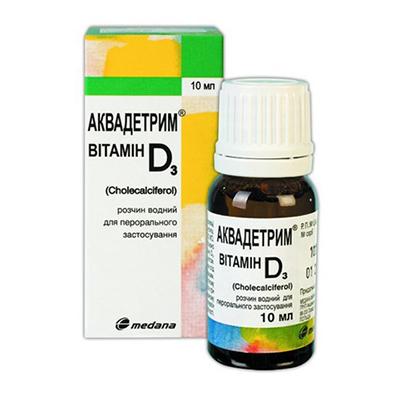 Аквадетрим – инструкция к препарату, цена, аналоги и отзывы о применении