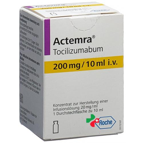 Актемра – инструкция по применению, показания, дозы, аналоги
