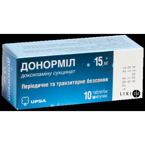 Отзывы о препарате донормил