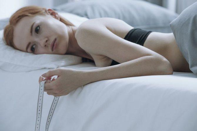 Диете анорексичных нимф