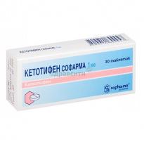Кетотифен при аллергии