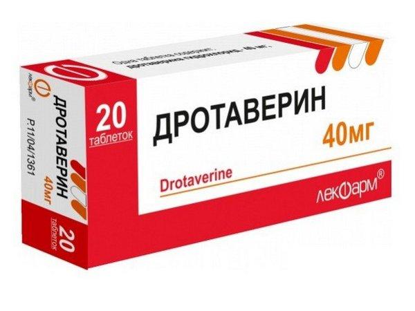 Дротаверин (drotaverine) инструкция по применению